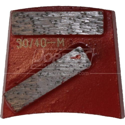 Medium Bond Red Dual Segment Blades