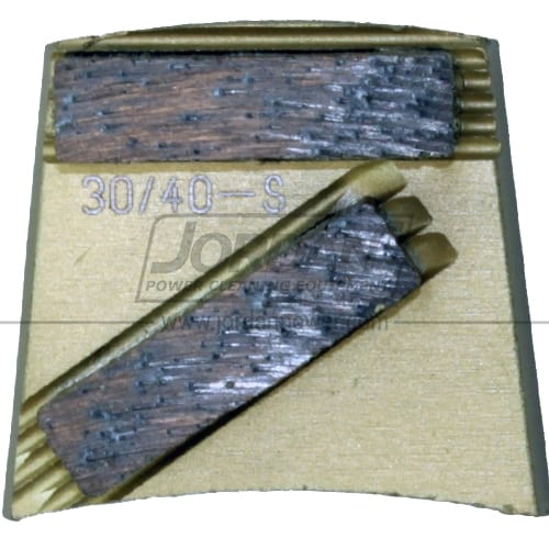 Soft Bond Gold Dual Segment Blades