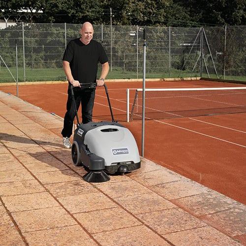 advance terra 28b walk behind sweeper for sale