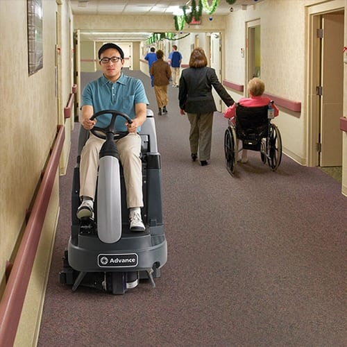 Advance ES4000 Rider Carpet Extractor for sale