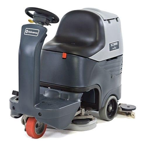Advance SC3000 26D rider scrubber for sale