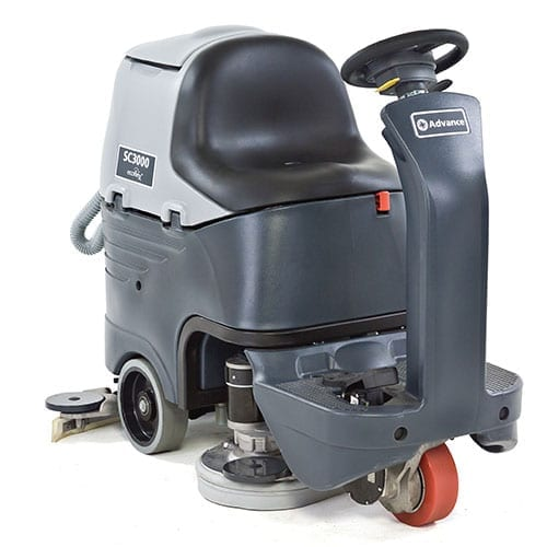Advance SC3000 26D rider scrubber for sale
