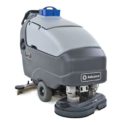 advance sc750 walk behind scrubber for sale