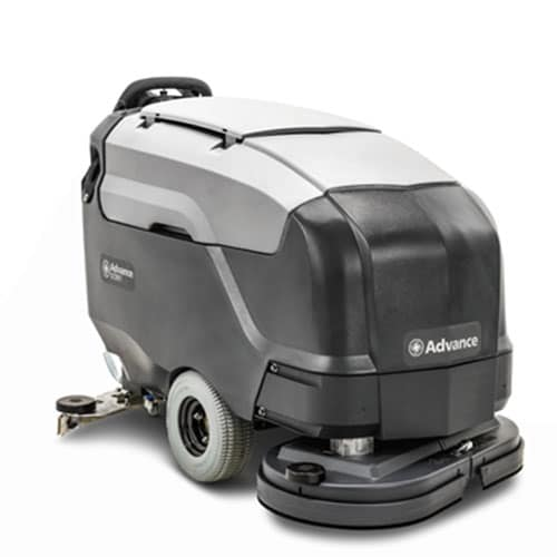 advance sc901 walk behind scrubber for sale