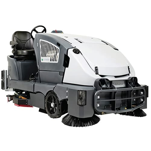 Advance CS7010 48G Rider Sweeper Scrubber for sale