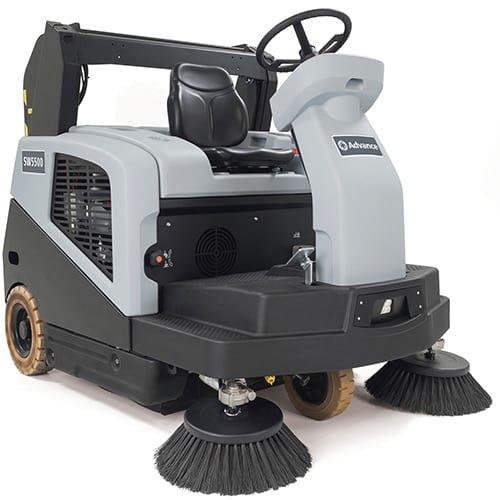 Advance SW5500 Rider Sweeper for sale