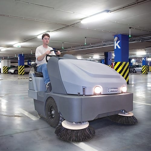 Advance SW8000 65 Rider Sweeper FOR SALE