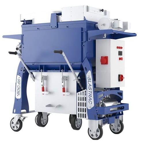 Blastrac BDC-66 dust collector for sale