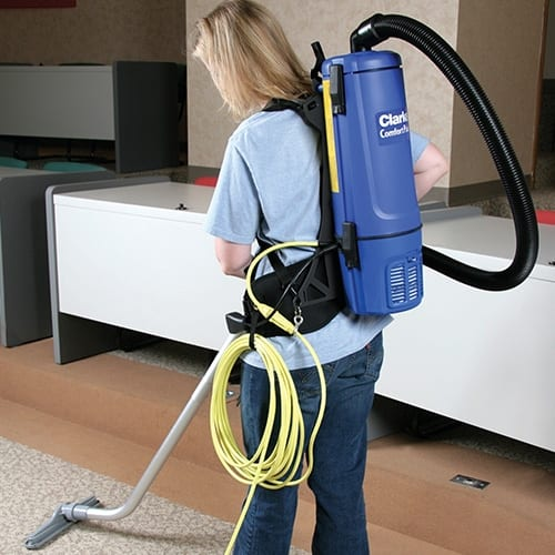 Clarke Comfort Pak 6 Back Pack Vacuum for sale