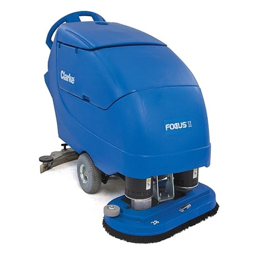 Clarke Focus II Mid-Size Disc 28 Walk Behind Scrubber for sale