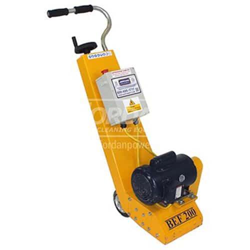 SPE BEF 200 electric concrete floor scarifier rental ohio