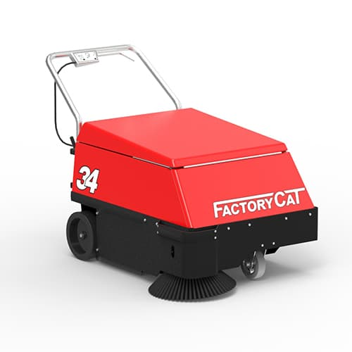 factory cat walk behind floor sweeper rental ohio