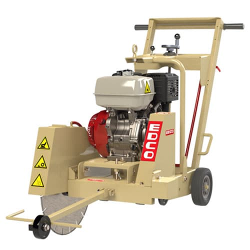 Edco 20 inch Walk Behind Saw Downcut for sale