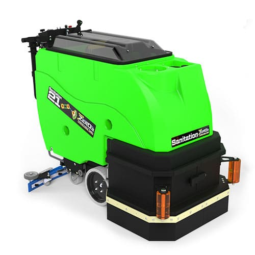Factory Cat Sanitation 21 Walk Behind Scrubber