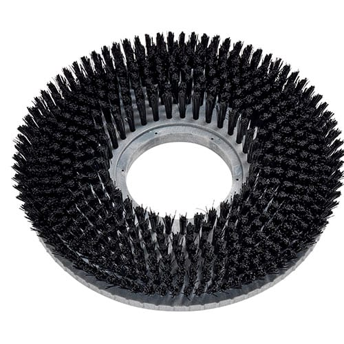 Brush Black Nylon-Plastic Back 7-08-03194