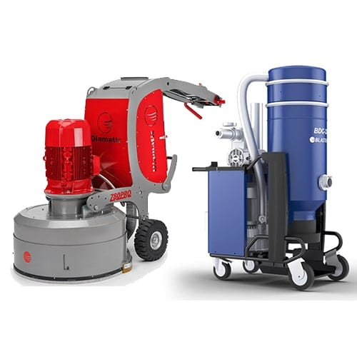 Diamatic BMG-780 Floor Grinder with Dust Vac Rental ohio